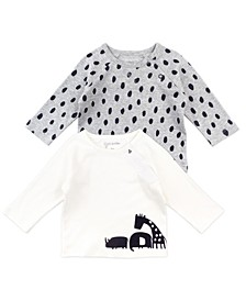 Baby Boys & Girls 2-Pack Tops