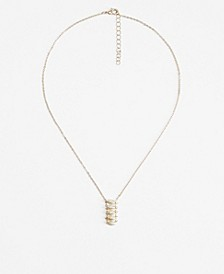 Imitation Pearl Chain Necklace
