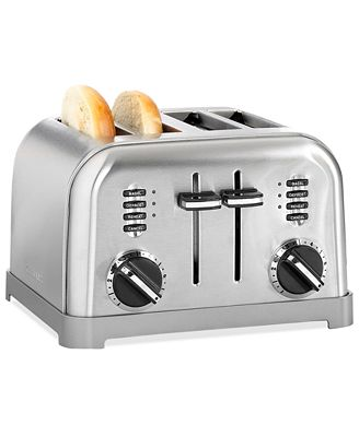 Cuisinart CPT-180 Toaster, 4-Slice Classic Brushed Chrome ... | {Toaster 73}
