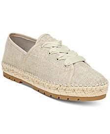 Luna Lace-Up Espadrilles