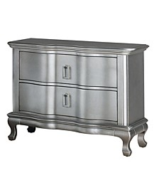 Stellina 2-Drawer Nightstand with USB Outlet
