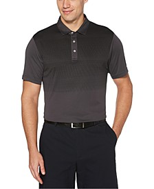 Men's Gradient-Stripe Golf Polo