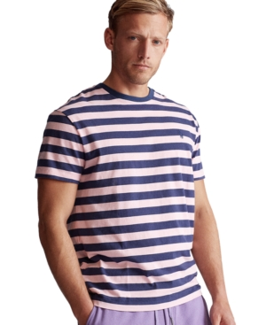 Polo Ralph Lauren Men's Big & Tall Classic-Fit Striped Jersey T-Shirt
