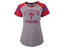 Philadelphia Phillies Women's Fly Out Raglan T-shirt