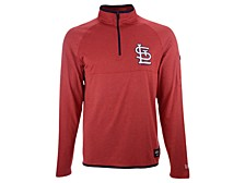 Men's St. Louis Cardinals Brushback Quarter Zip Pullover