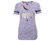 Los Angeles Dodgers Women's Space Dye T-Shirt