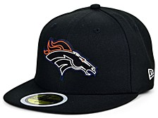 Little Boys Denver Broncos Draft 59FIFTY Fitted Cap