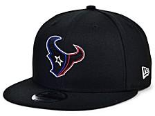Little Boys Houston Texans Draft 9FIFTY Snapback Cap
