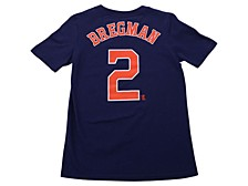 Houston Astros Youth Alex Bregman Name and Number Player T-Shirt