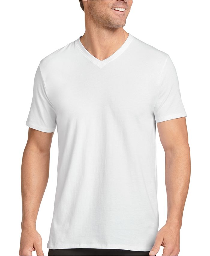 Jockey - Men's 3-Pk. V-Neck T-Shirts