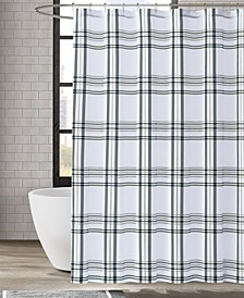 "Kent Plaid Shower Curtain, 72"" x 72"""