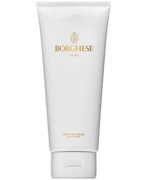 Borghese Crema Saponetta Creme Cleanser, 6.7-oz.