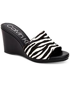Britta Wedge Sandals