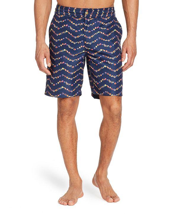 "Brooklyn Brigade Men's Standard-Fit 9"" Tangs Board Shorts"