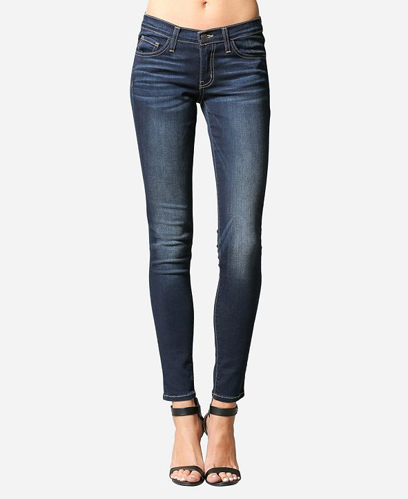 FLYING MONKEY Regular Rise Super Soft Skinny Ankle Jeans