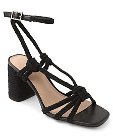 Texa Tie-Up Rope Sandals