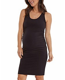 Cross Back Women's Maternity Dress