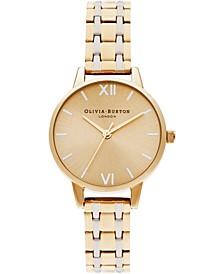 Women's England Two-Tone Stainless Steel Bracelet Watch 30mm