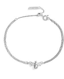 Women's Sparkle Bee Bracelet