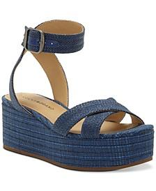 Women's Bikaro Espadrille Wedge Sandals