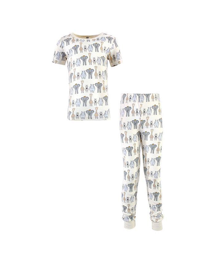 Hudson Baby - - Big Boys and Girls Cotton Pajama Set