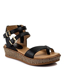 Ladie Flatform Sandals