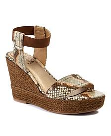 Emmalyn Wedge Sandals