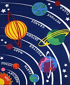 "Fun Time Solar System 19"" x 29"" Area Rug"