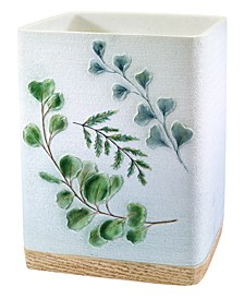 Ombre Leaves Wastebasket