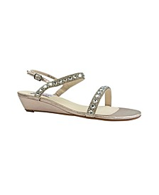 Jasmine Wedge Sandal