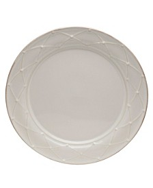 Meridian White Decorated Dinner