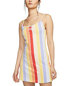 Women's Rainbow-Stripe Dress