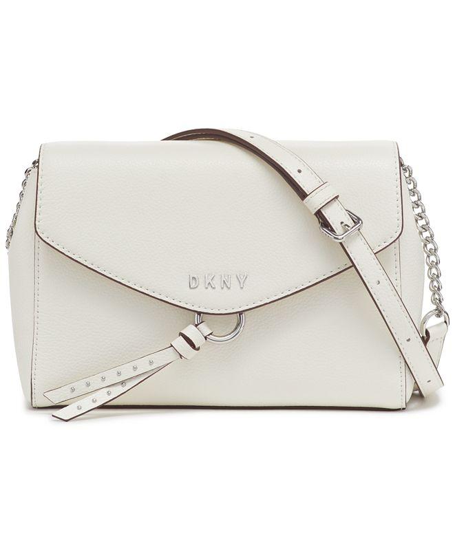 DKNY Lola Flap Leather Crossbody