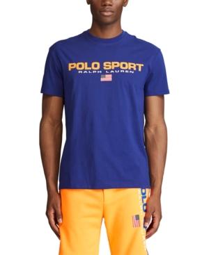 Polo Ralph Lauren Men's Big & Tall Polo Sport Logo T-Shirt