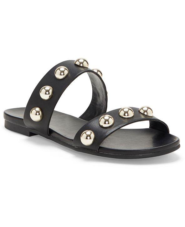 INC International Concepts INC Women's Galli Ball-Stud Slide Sandals, Created for Macy's