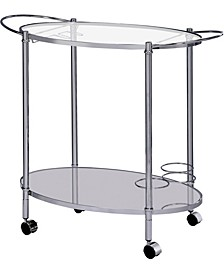 Impresa Contemporary Serving Cart