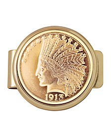 Tribute To 1913 10 Dollar Gold Indian Coin Money Clip