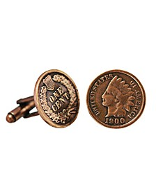 Indian Head Coin Cuff Links