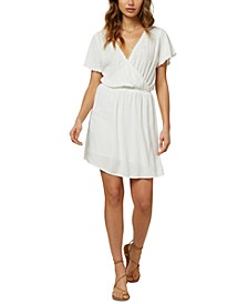 Juniors' Nolita Embroidered Mini Dress
