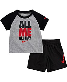 Baby Boys 2-Pc. All Me T-Shirt & Shorts Set