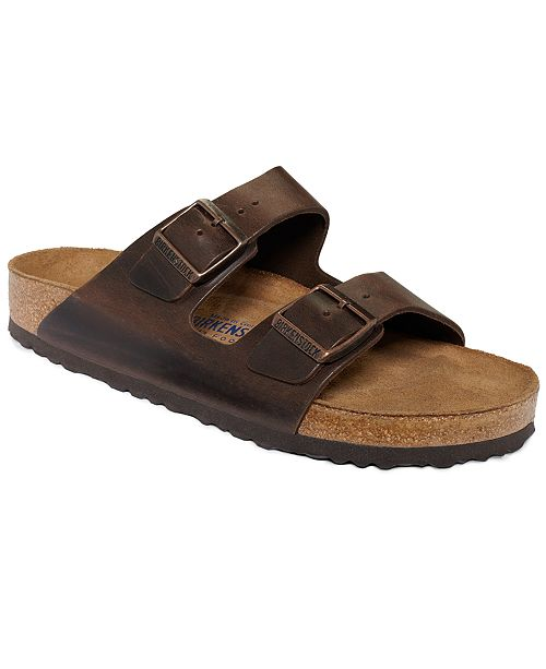 50b89f44596591 Birkenstock Men s Arizona Leather Sandals  Birkenstock Men s Arizona  Leather Sandals ...