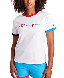 Champion Women's Campus Ringer T-Shirt