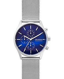 Men's Chronograph Holst Stainless Steel Mesh Bracelet Watch 42mm