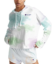 Women's Cotton Cloud Tie-Dyed Oversized Hoodie