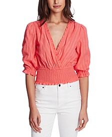 Shimmer Stripe Top