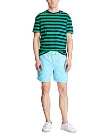 폴로 랄프로렌 Polo Ralph Lauren Mens 5-¾ Inch Traveler Swim Trunks,French Turquoise