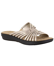 Easy Street Tula Women's Comfort Slide Sandals