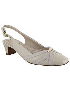 Pilar Women's Sling back Pumps
