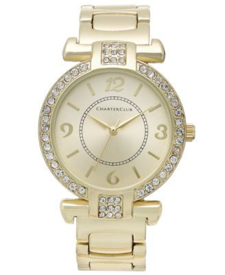 Image of Charter Club Women's Gold-Tone Bracelet 25mm