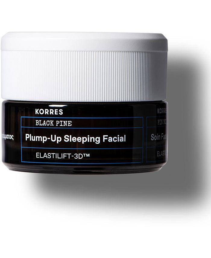KORRES - Korres Black Pine Plump-Up Sleeping Facial, 1.3-oz.